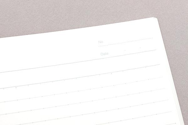 Kokuyo Campus Adhesive-Bound Notebook - Semi B5 - Dotted 7 mm Rule - KOKUYO NO-3AT