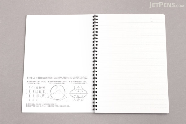 """Kokuyo Campus Twin Ring Notebook - """"Route to the Top"""" Cover - Semi B5 - Dotted 6 mm Rule - KOKUYO SU-TV3BT"""