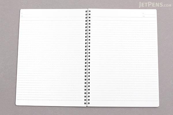 Kokuyo Campus Twin Ring Notebook - Semi B5 - Dotted 7 mm Rule - KOKUYO SU-T115ATN