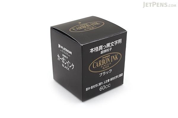 Platinum Carbon Ink - Black - 60 ml Bottle - PLATINUM INKC-1500
