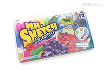 Mr. Sketch Scented Marker - Chisel Tip - 12 Color Set - MR SKETCH 1905069