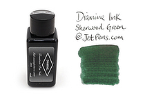 Diamine Fountain Pen Ink - 30 ml - Sherwood Green - DIAMINE INK 3074