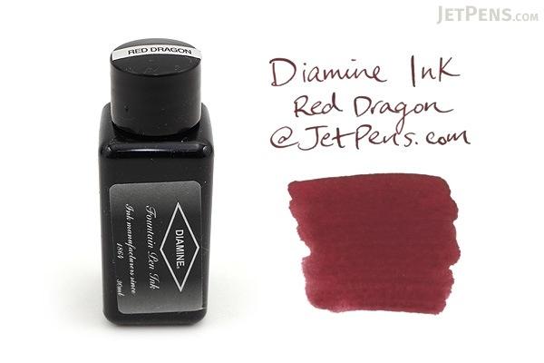 Diamine Red Dragon Ink - 30 ml Bottle - DIAMINE INK 3077