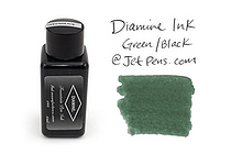 Diamine Green/Black Ink - 30 ml Bottle - DIAMINE INK 3080