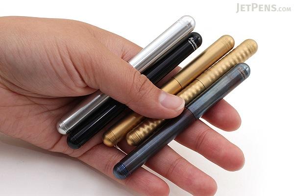 Kaweco Liliput Fountain Pen - Broad Nib - Brass Wave Body - KAWECO 10000724