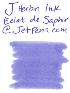 J. Herbin Fountain Pen Ink Cartridge - Eclat de Saphir (Sapphire Blue) - Pack of 6 - J. HERBIN H201/16