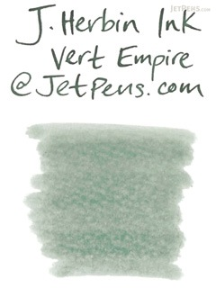J. Herbin Vert Empire Ink (Empire Green) - 6 Cartridges - J. HERBIN H201/39