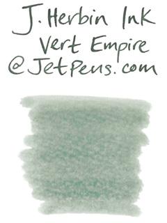 J. Herbin Fountain Pen Ink Cartridge - Vert Empire (Empire Green) - Pack of 6 - J. HERBIN H201/39