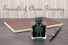Pen Perks: Emerald of Chivor Giveaway