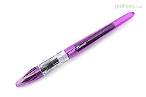 Pilot Plumix Fountain Pen - Purple Body - Medium Flat Italic Nib - PILOT PLU--BLU-PPL
