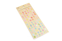 Active Paper Stickers - SG 28 Number - ACTIVE SG-28