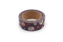Kurochiku Japanese Pattern Washi Tape - Kyouame (Kyoto Candy) - 15 mm x 10 m - KUROCHIKU 71312905