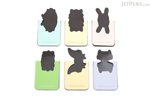 Galison Magnetic Bookmarks - Mr. Fox and Friends - GALISON 978-0-7353-3684-1