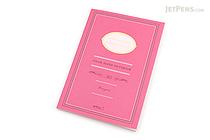 Midori Color Paper Notebook - A5 - Lined - Pink - MIDORI 15145-006