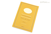 Midori Color Paper Notebook - A5 - Lined - Yellow - MIDORI 15146-006
