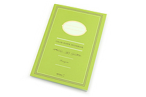 Midori Color Paper Notebook - A5 - Lined - Yellow Green - MIDORI 15147-006