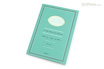 Midori Color Paper Notebook - A5 - Lined - Blue Green - MIDORI 15148-006