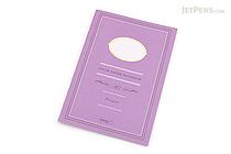 Midori Color Paper Notebook - A5 - Lined - Purple - MIDORI 15149-006