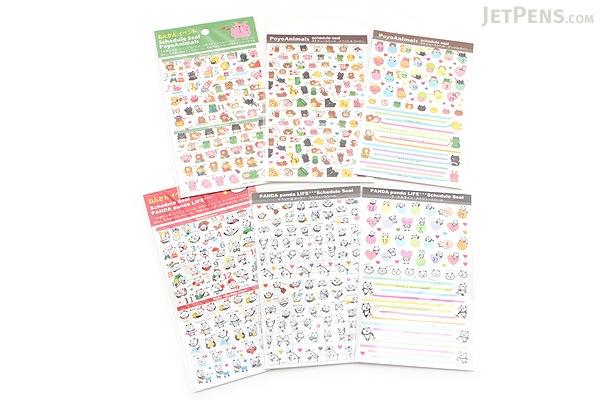 Pine Book Schedule Stickers - Panda Life - Event & Corner - PINE BOOK TM-95