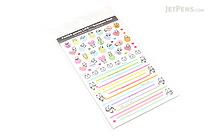 Pine Book Schedule Stickers - Panda Life - Mark & Line - PINE BOOK TM-96