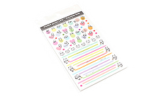 Pine Book Schedule Stickers - Panda Life - Mark & Line - PINE BOOK TM-96