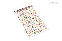 Pine Book Schedule Stickers - Poyo Animals - Event & Corner - PINE BOOK TM00062