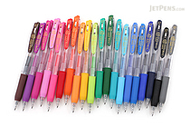 Zebra Sarasa Push Clip Gel Pen - 0.7 mm - 20 Color Bundle - JETPENS ZEBRA JJB15 BUNDLE