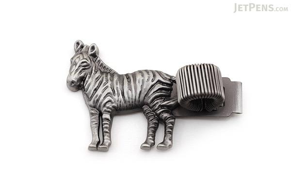 Mark's Red List of Threatened Animals Pen Holder - Grevy's Zebra - MARK'S MPH-AN2-A