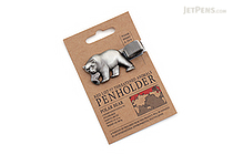 Mark's Red List of Threatened Animals Pen Holder - Polar Bear - MARK'S MPH-AN2-C