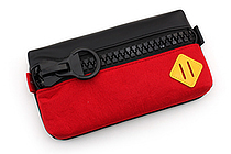 Raymay Big Zipper Pen Case - Red - RAYMAY FY315 R