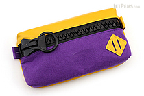 Raymay Big Zipper Pen Case - Violet - RAYMAY FY315 V