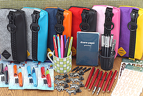 New Products: Elegant and Quirky Fountain Pens, Animal Pen Holders, Fun Pen Cases, Pocket Notebooks, and More!