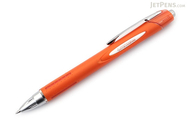 Uni Jetstream Ballpoint Pen - 0.7 mm - Rubber Body Series - Metallic Orange Body - UNI SXN25007M.4