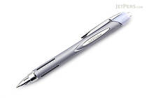 Uni Jetstream Ballpoint Pen - 0.7 mm - Rubber Body Series - Silver Body - UNI SXN25007.26
