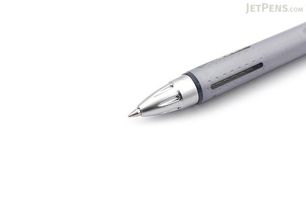 Uni Jetstream Ballpoint Pen - 0.7 mm - Rubber Body Series - Silver Body - UNI SXN25007.26