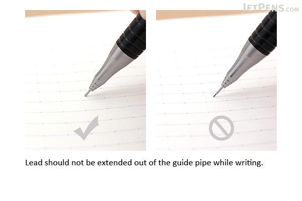 Pentel Orenz Mechanical Pencil - 0.2 mm - Black - PENTEL XPP502-A