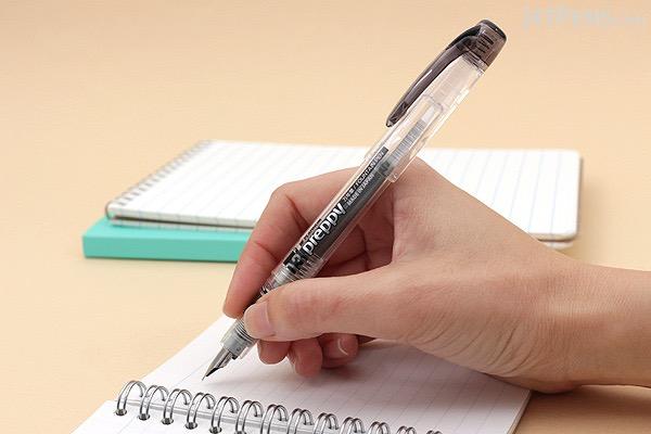 Platinum Preppy Fountain Pen - Black - 03 Fine Nib - PLATINUM PPQ-200 1-2