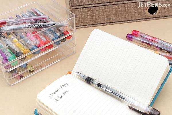 Platinum Preppy Fountain Pen - Green - 03 Fine Nib - PLATINUM PPQ-200 41-2