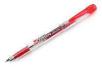 Platinum Preppy Fountain Pen - 05 Medium Nib - Red - PLATINUM PPQ-200 11-3