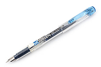 Platinum Preppy Fountain Pen - 05 Medium Nib - Blue Black - PLATINUM PPQ-200 3-3