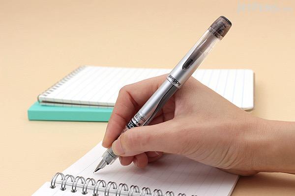 Platinum Preppy Fountain Pen - Black - 02 Extra Fine Nib - PLATINUM PPQ-300 1-1