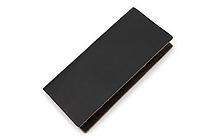 Word Notebooks Standard Memorandum Leather Cover - Black - WORD NOTEBOOKS W-MEMOR-BLKJACK