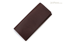 Word Notebooks Standard Memorandum Leather Cover - Brown - WORD NOTEBOOKS W-MEMOR-BRNJACK