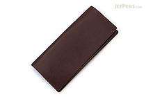 Word Notebooks Standard Memorandum Leather Cover - Brown - WORD NOTEBOOKS W-MEMOR-BRNJACK