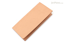 Word Notebooks Standard Memorandum Leather Cover - Tan - WORD NOTEBOOKS W-MEMOR-TANJACK