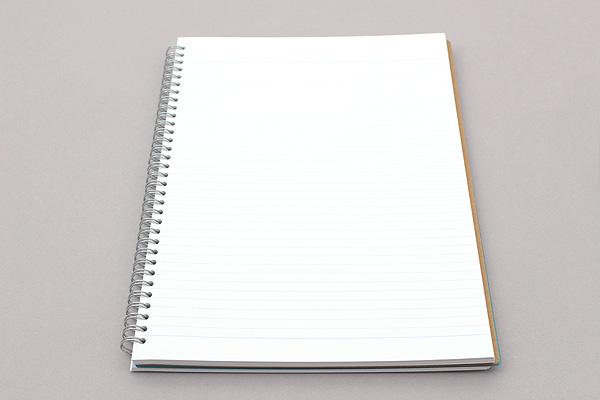 Maruman Sept Couleur Notebook - A4 - 7 mm Rule - Teal - MARUMAN N570A-52