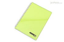 Maruman Sept Couleur Notebook - A4 - 7 mm Rule - Green - MARUMAN N570B-03