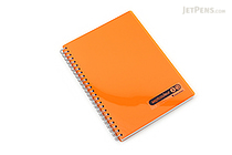 Maruman Sept Couleur Notebook - A5 - 7 mm Rule - Orange - MARUMAN N572B-09