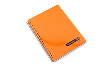 Maruman Sept Couleur Notebook - A5 - 7 mm Rule - Orange - MARUMAN N572-09