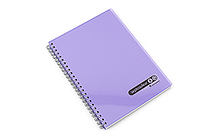 Maruman Sept Couleur Notebook - A5 - 7 mm Rule - Purple - MARUMAN N572-10